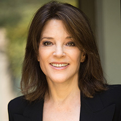 Marianne Williamson interviewed by Ursula Jorch for The Impact Interviews