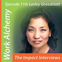 Lesley Grossblatt on The Impact Interviews
