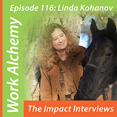 Linda Kohanov interviewed by Ursula Jorch for The Impact Interviews
